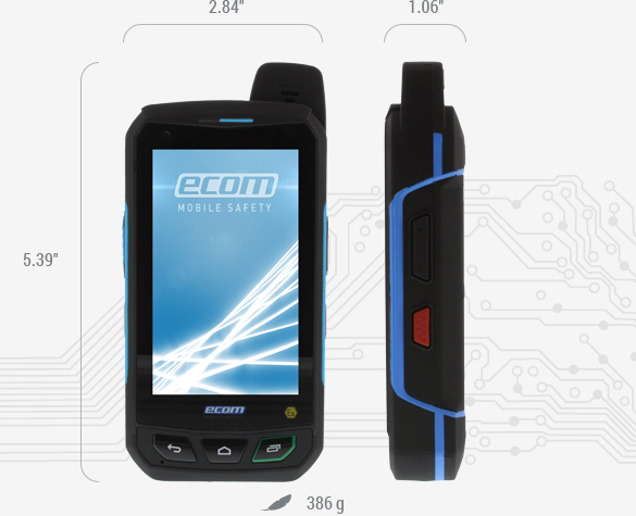 Smart-Ex® 01 - Specifications