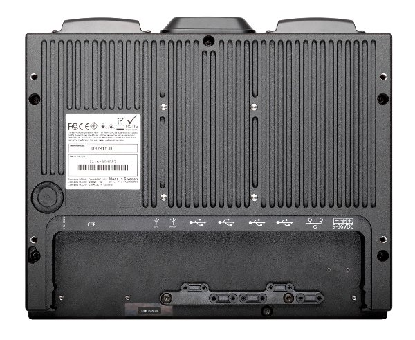 JLT Verso 12 - Rugged Computing With a Compact Design - Rear View