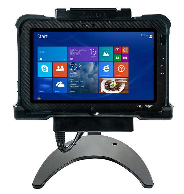 Xplore XSLATE B10 Rugged Tablet Docking Station